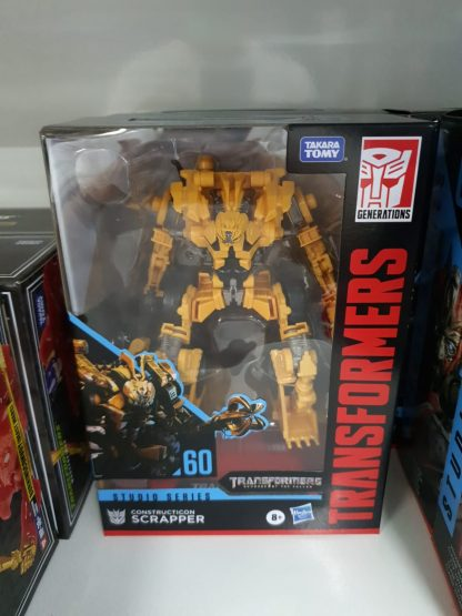 Hasbro transformers studio series scrapper