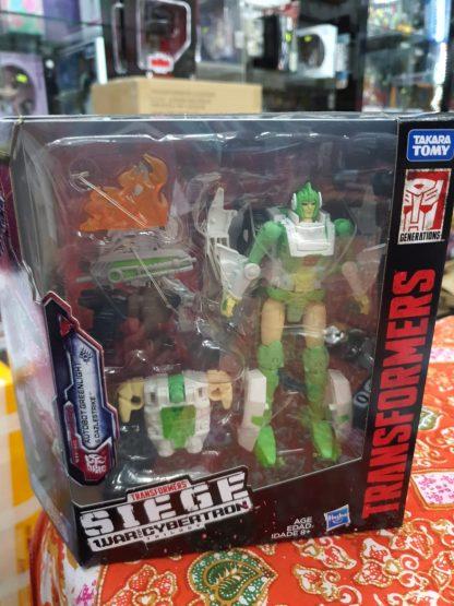 Hasbro Transformers WFC Siege Greenlight