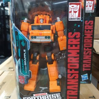 Hasbro Transformers WFC Earthrise Voyager Grapple