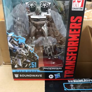 Hasbro Transformers Studio Series Deluxe Soundwave