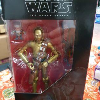 Hasbro Star Wars Black Series 6 Inch C3PO and Babu Frik